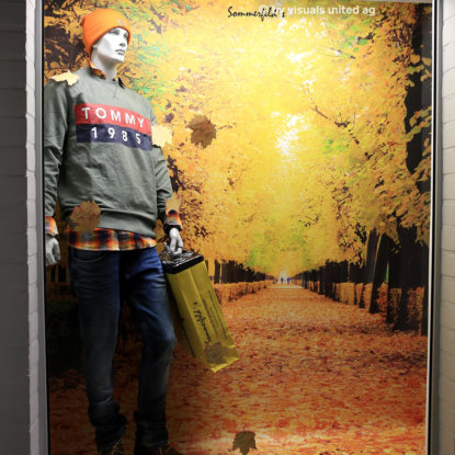 Objektdesign Schaufenstergestaltung Herbst