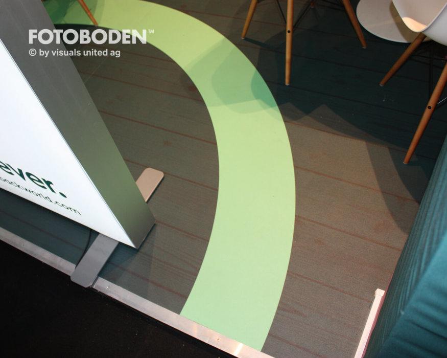 Messeboden Boden Bedrucken Vinyl Messebau