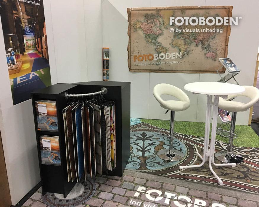 FOTOBODEN™ Messeboden Objektboden Designboden