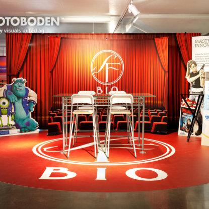 Ladenbau Ladengestaltung Teppich Mit Logo