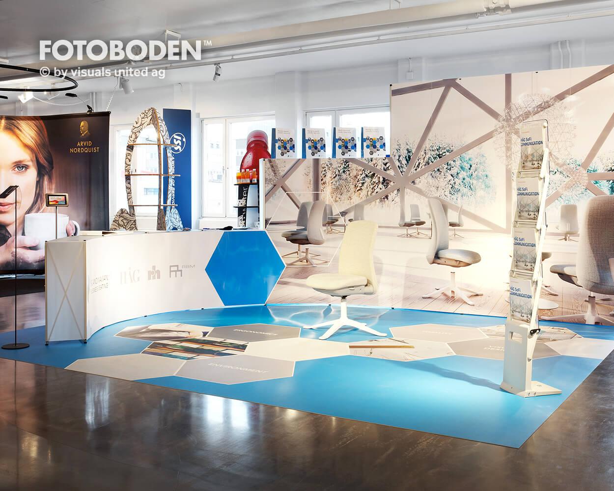 Ladengestaltung Fußboden Fotomotiv Motiv Druck