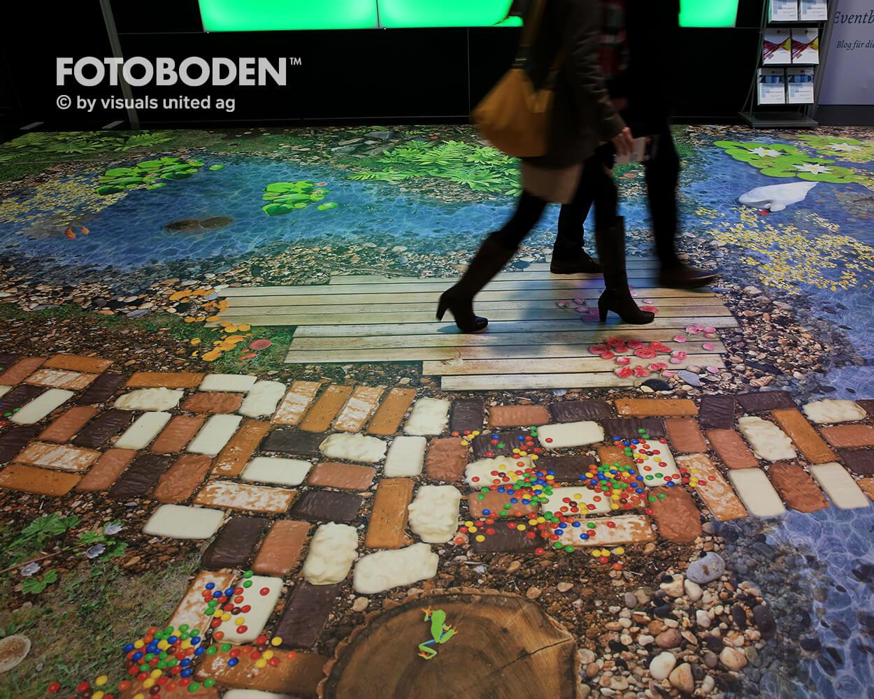 BOE2018 2 Fotoboden Messeboden Tradeshow Flooring Bodengestaltung Messe Bodendesign Messedesign Design Boden Messegestaltung