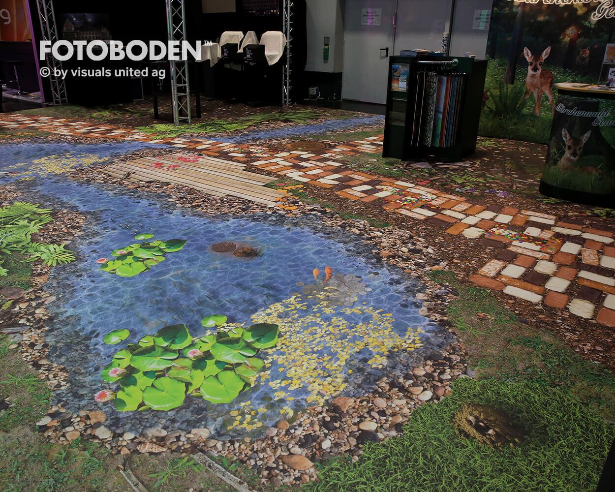 BOE2018 4 Fotoboden Messeboden Tradeshow Flooring Bodengestaltung Messe Bodendesign Messedesign Design Boden Messegestaltung
