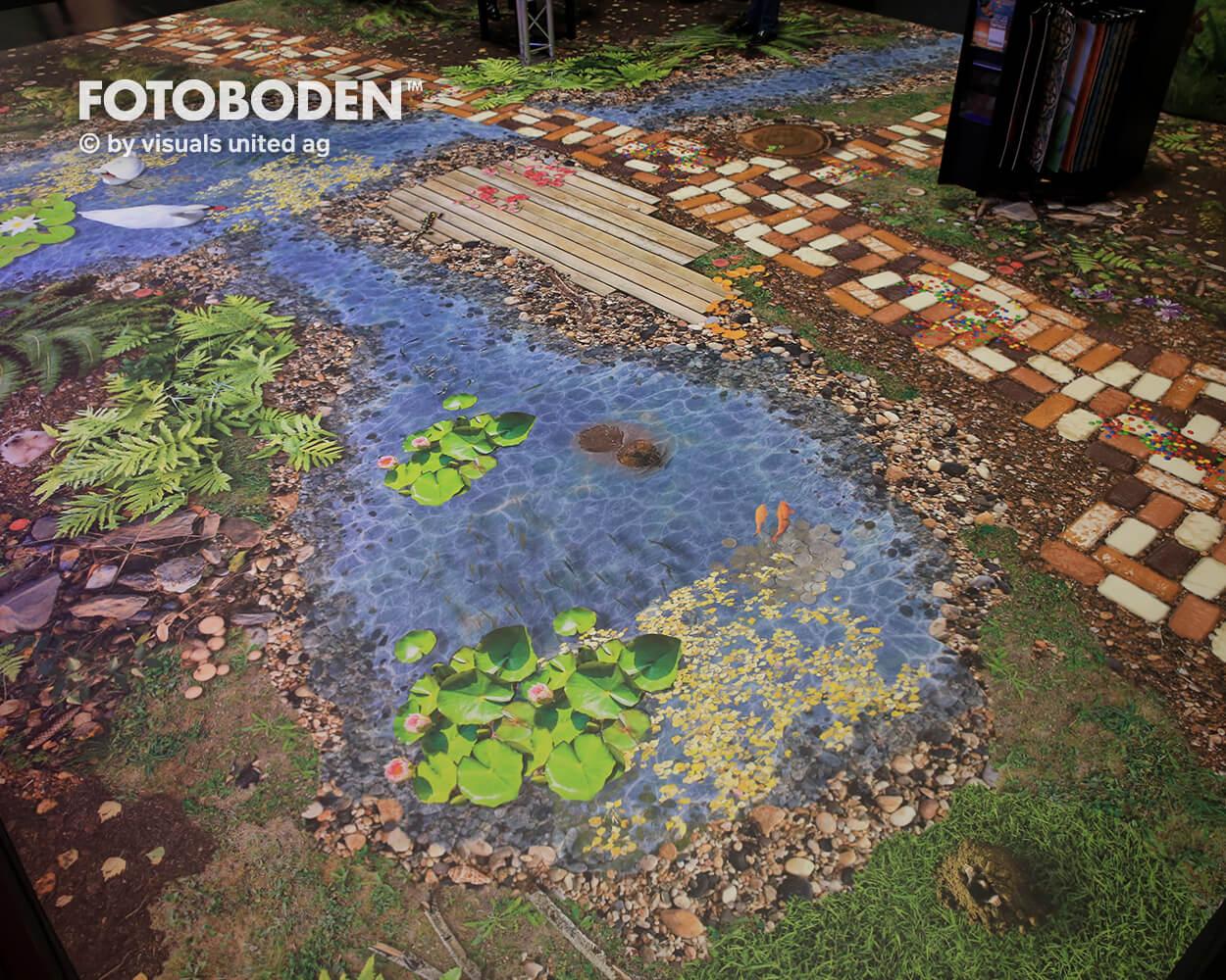 BOE2018 5 Fotoboden Messeboden Tradeshow Flooring Bodengestaltung Messe Bodendesign Messedesign Design Boden Messegestaltung