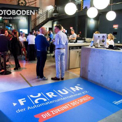FOTOBODEN™ Personalisierte Fußmatte Teppich Mit Logo