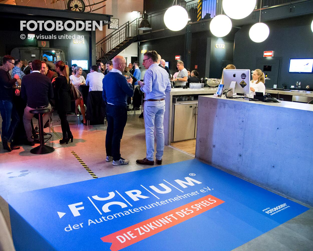 Fotoboden Personalisierte Fußmatte Teppich mit Logo