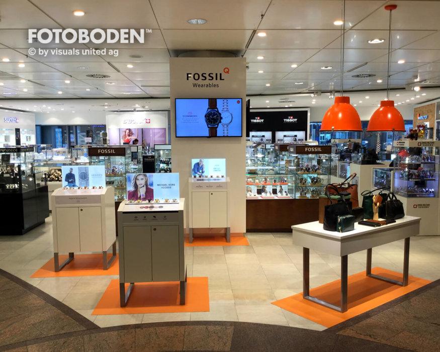 FOTOBODEN™ Flooring Ladeneinrichtung Shopdesign