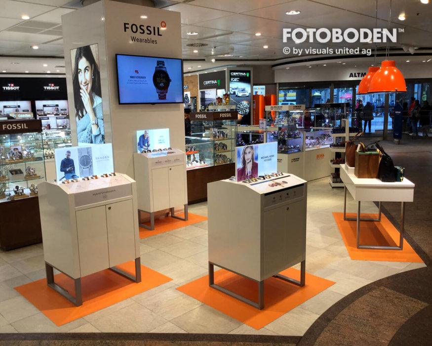 FOTOBODEN™ Fußboden Verkaufsförderung Ausstellungsdesign
