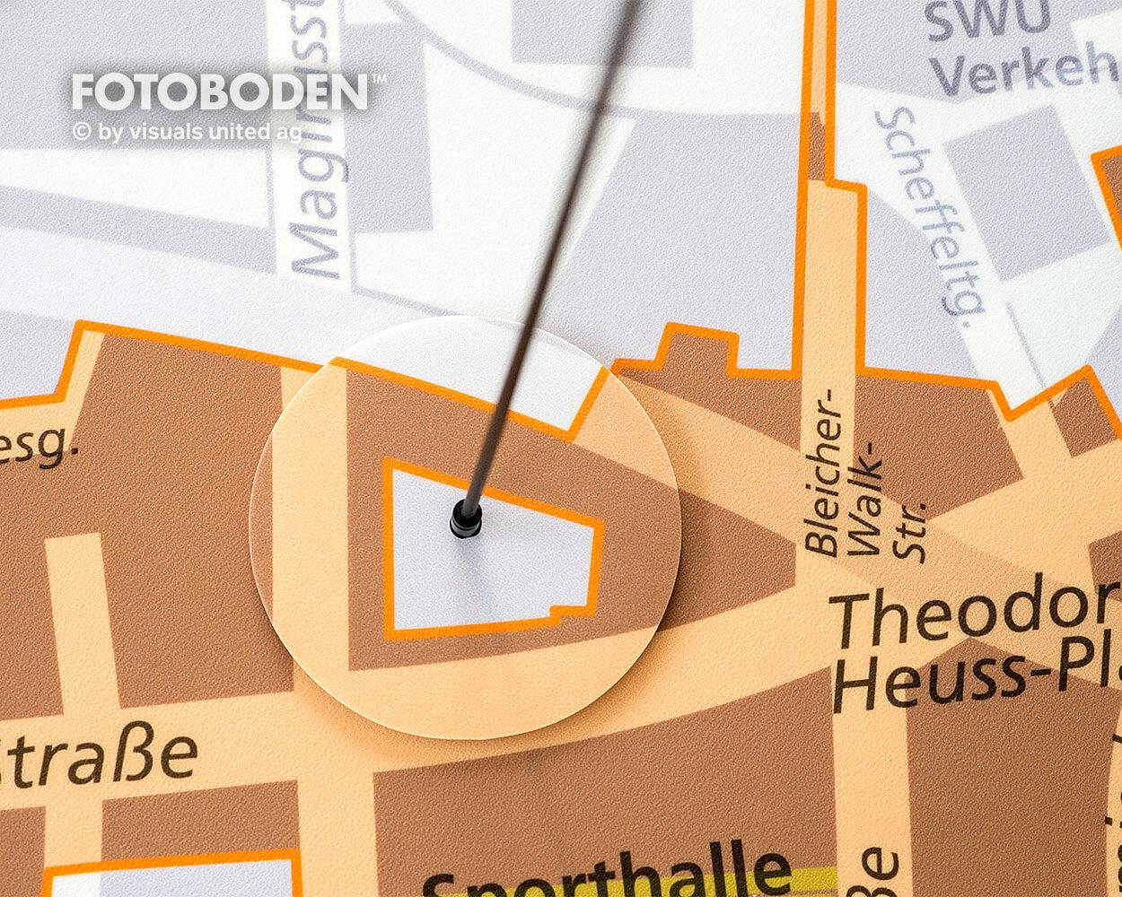 Sparkasse Ulm Ausstellung Museum  Raumkonzept Stimmung Museumsboden Ausstellungsboden Fotoboden Vinylboden Flooring Individuell Event4
