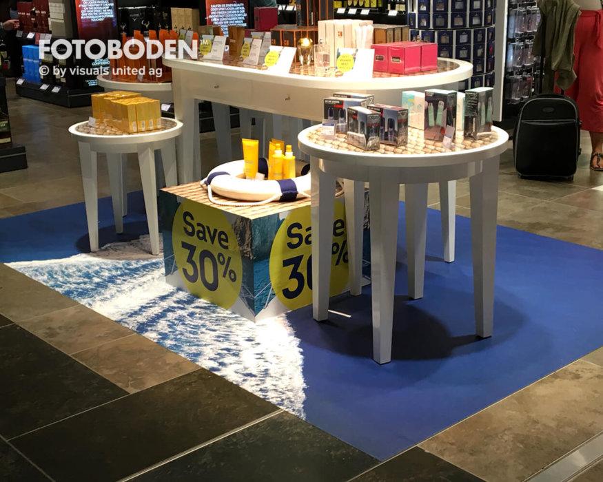FOTOBODEN™ Ladeneinrichtung Shopdesign