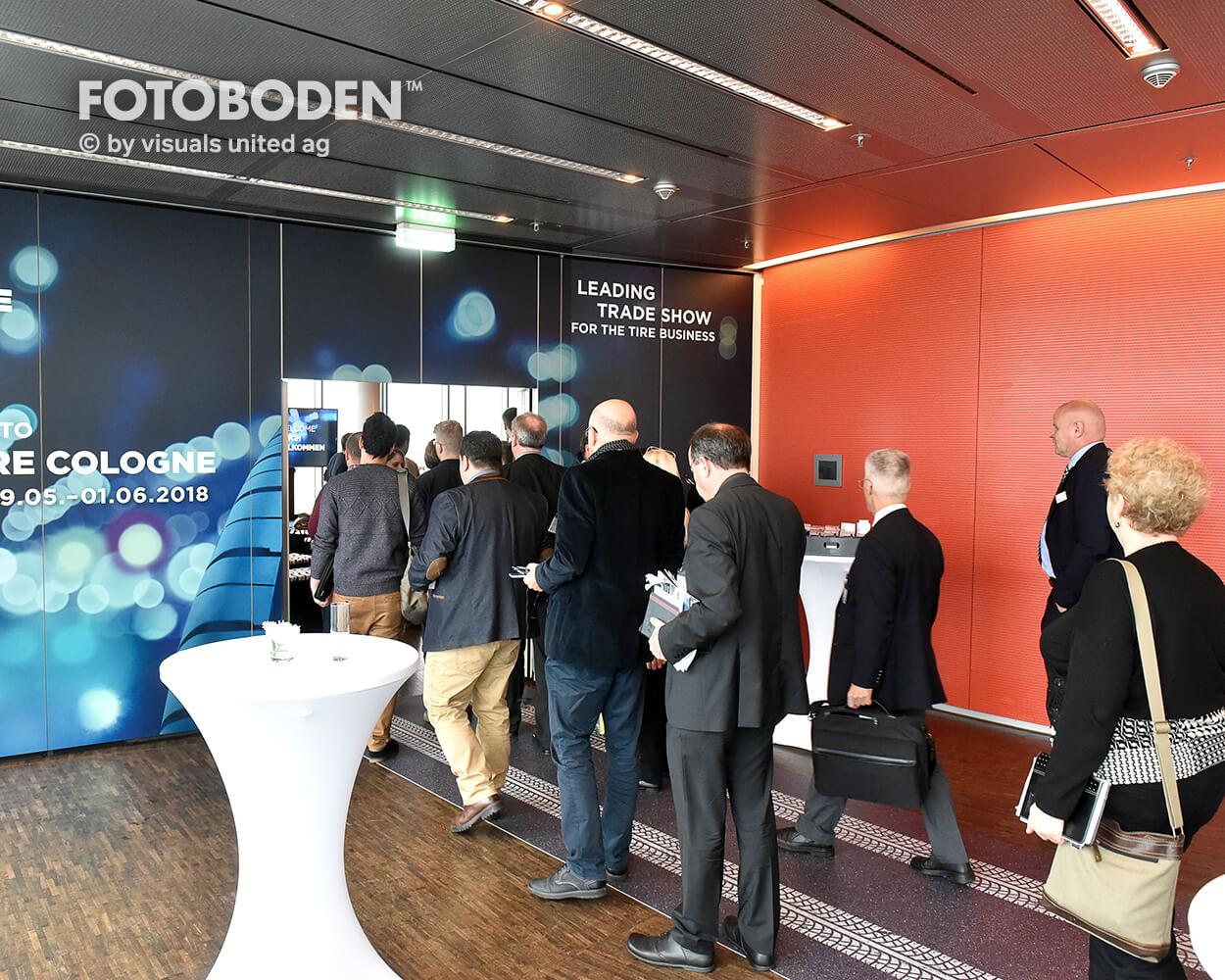 Europäische Pressekonferenz The Tire Cologne 2018, Köln Sky