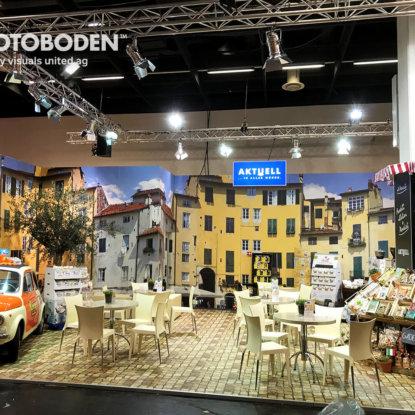 FOTOBODEN™ Messeboden Tradeshow Bodendesign