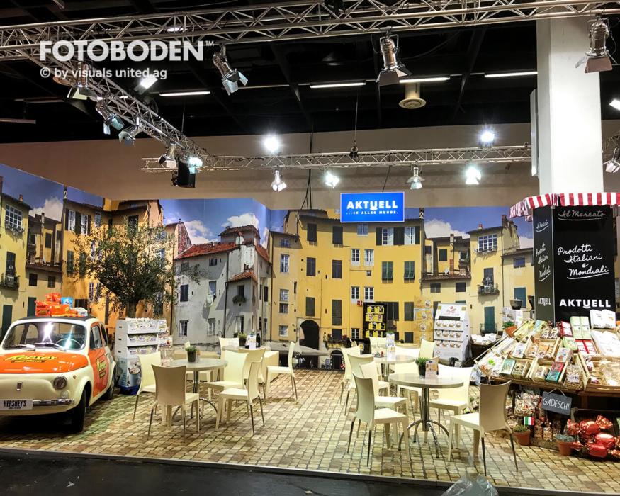Fotoboden Messeboden Tradeshow Bodendesign