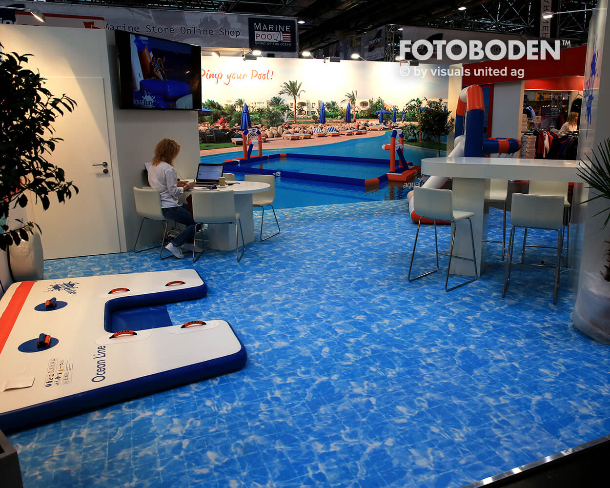 Boot2018 Fotoboden Messeboden Tradeshow Flooring Bodengestaltung Messe Bodendesign Messedesign Design Boden Messegestaltung 10
