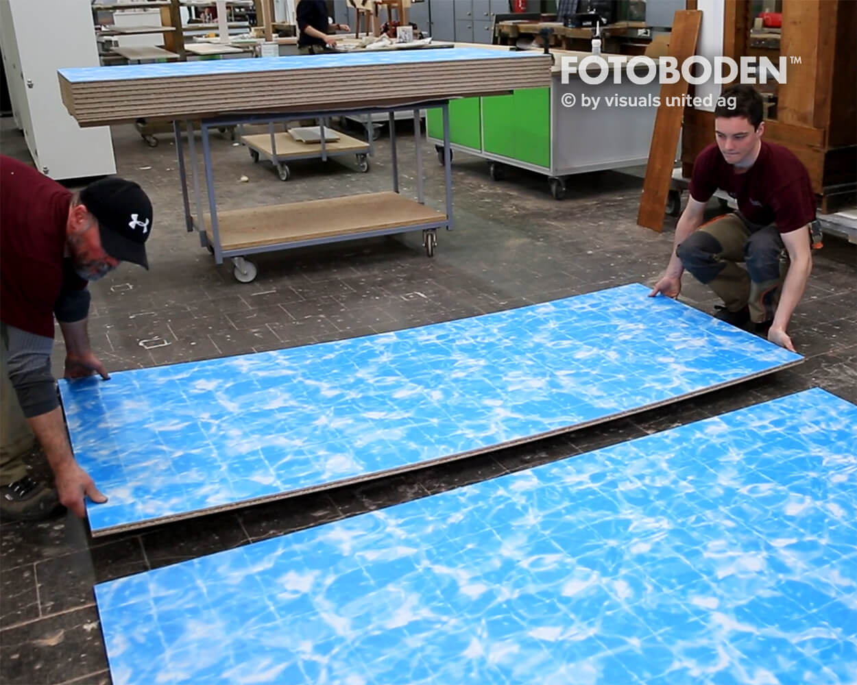 Boot2018 Fotoboden Messeboden Tradeshow Flooring Bodengestaltung Messe Bodendesign Messedesign Design Boden Messegestaltung 5