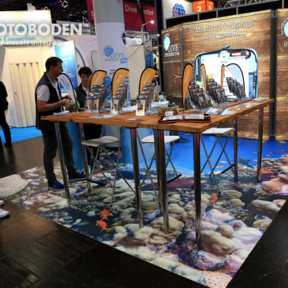 FOTOBODEN™ Messeboden Tradeshow