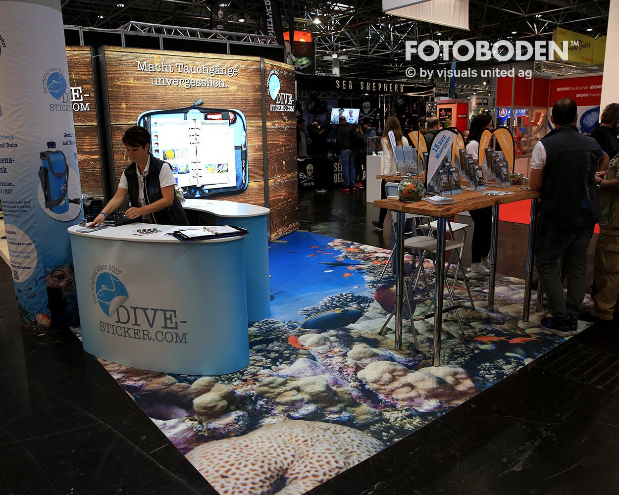 Boot2018 Fotoboden Messeboden Tradeshow Flooring Bodengestaltung Messe Bodendesign Messedesign Design Boden Messegestaltung 7