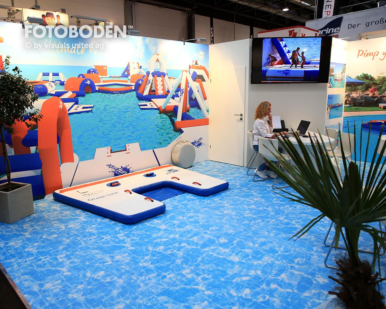 Boot2018 Fotoboden Messeboden Tradeshow Flooring Bodengestaltung Messe Bodendesign Messedesign Design Boden Messegestaltung 8