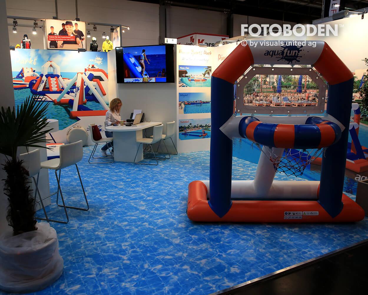 Boot2018 Fotoboden Messeboden Tradeshow Flooring Bodengestaltung Messe Bodendesign Messedesign Design Boden Messegestaltung 9