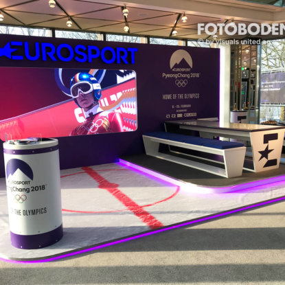 FOTOBODEN™ Flooring Fußboden Sport Werbung