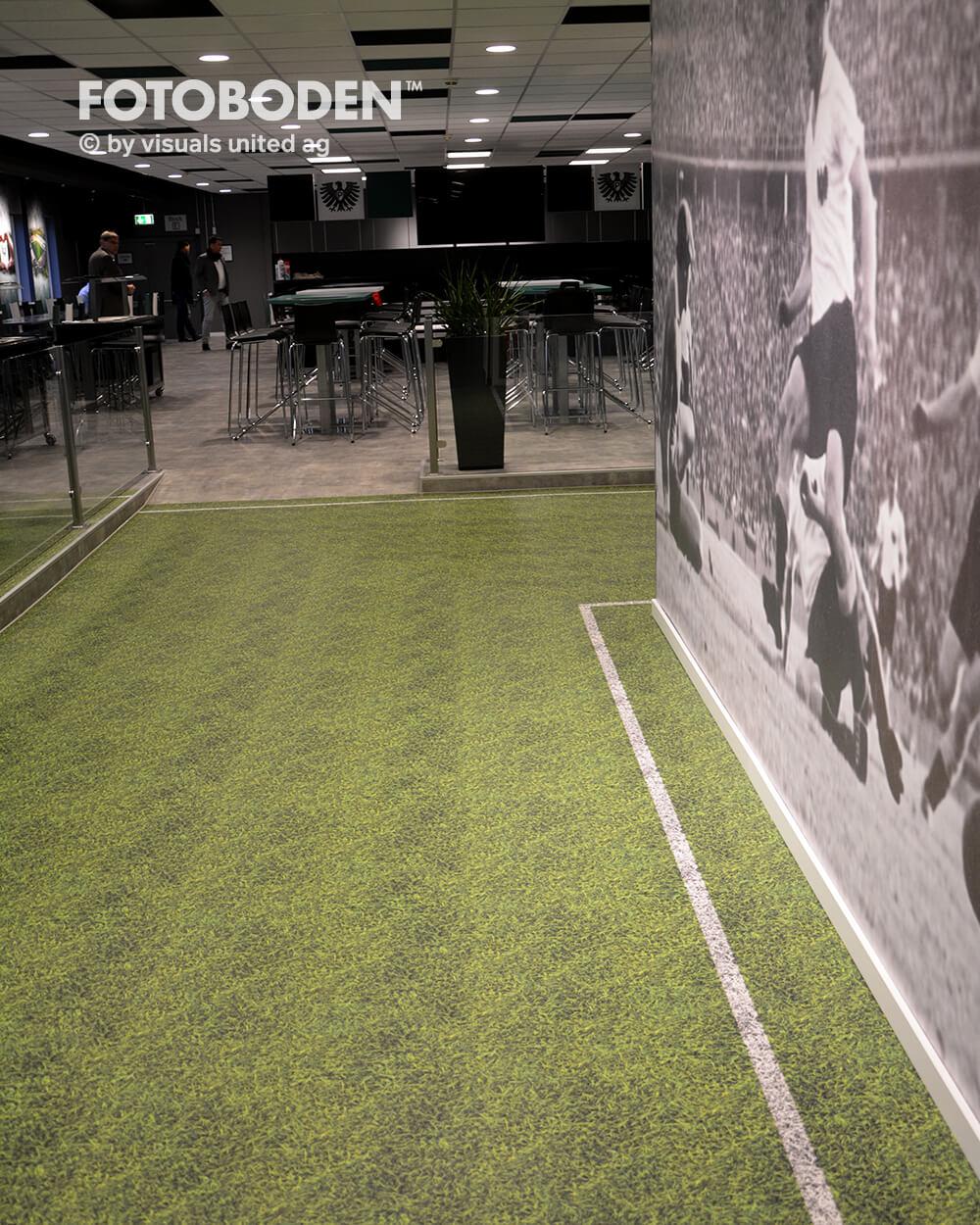 Preußen Münster Fotoboden Sport Sponsoring Werbung Advertising Flooring 2