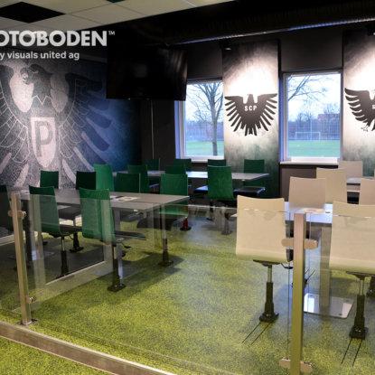 FOTOBODEN™ Sport Ausstellungsdesign Vinyl