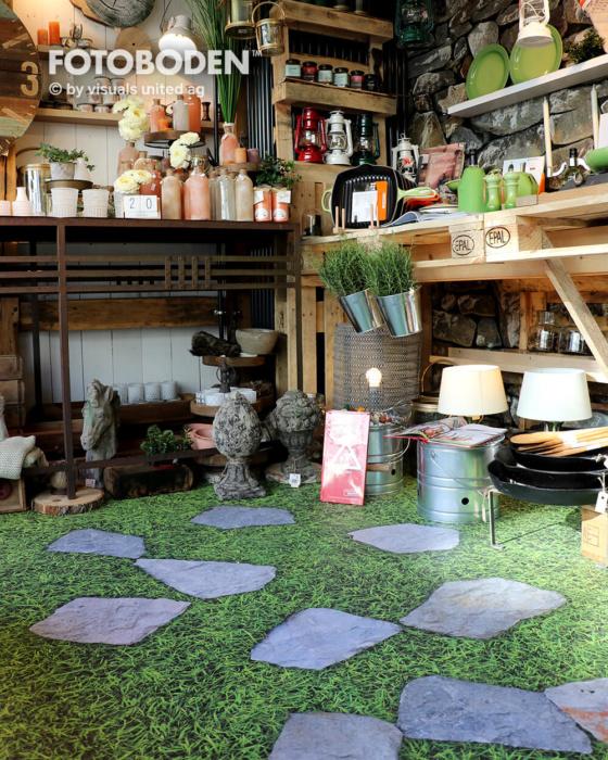 Ladenbau Ladengestaltung Bodengestaltung Objektdesign