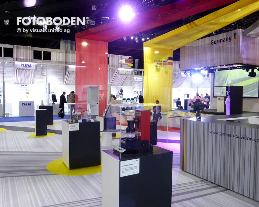 FOTOBODEN™ Messeboden Messestand Ideen Messeteppich