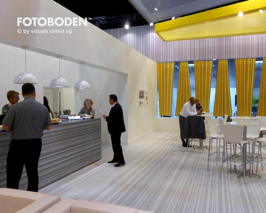 FOTOBODEN™ Messeboden Bodengestaltung Messedesign