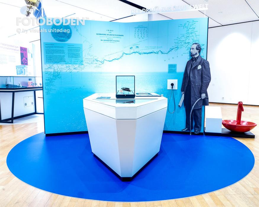 Ausstellung Museumboden Objektboden Designboden