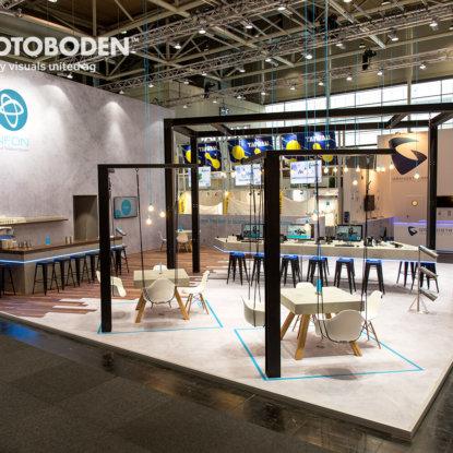 Messeboden Bodengestaltung Messegestaltung Designboden