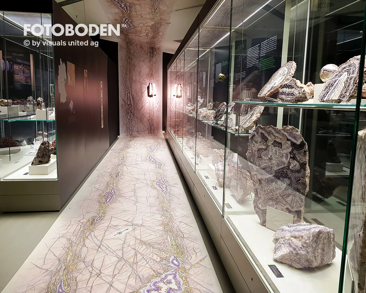 Museumsboden Ausstellungsboden Vinylboden