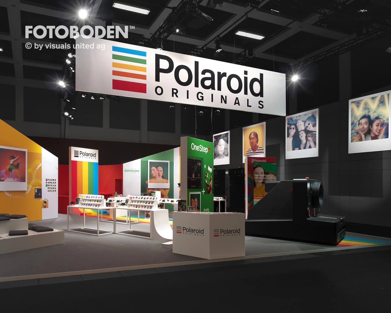 Fotoboden Messeboden Tradeshow Messegestaltung