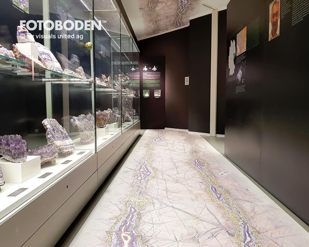 Designboden Vinylboden Museumboden