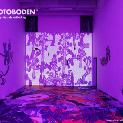 Ausstellung Museum Raumkonzept Flooring