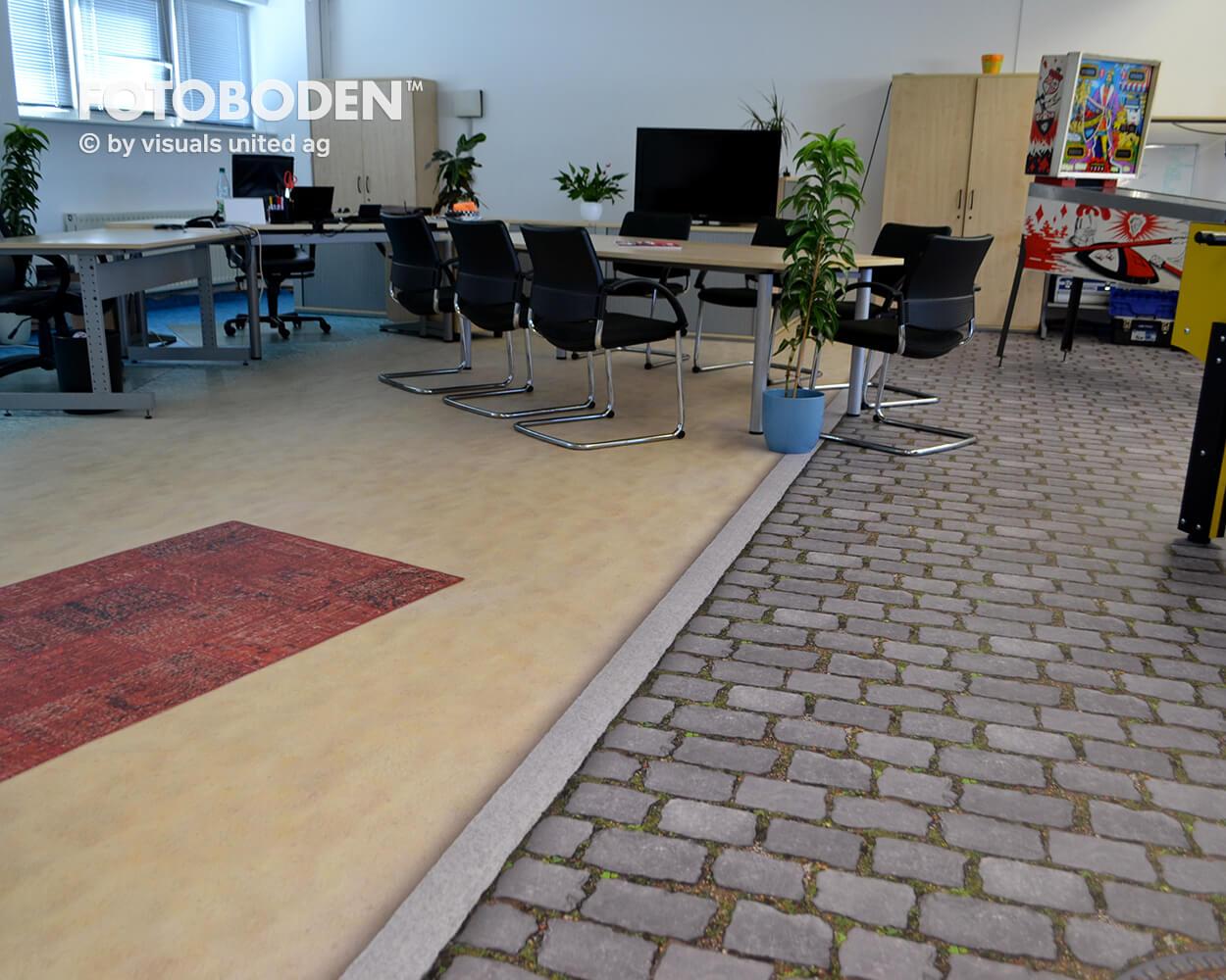Merchandising Ideen Designboden Vinylboden