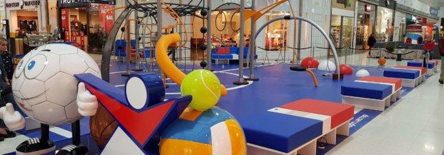 Indoor Spielboden Objektdesign Motivboden