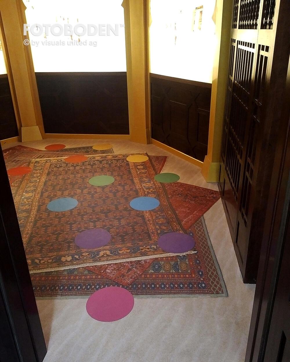 Fallschutzmatten Personalisierte Fußmatte Vinylboden