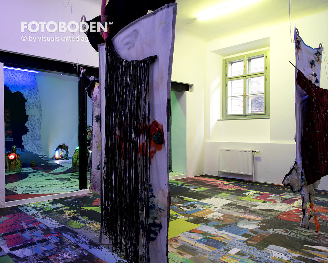 Boden bedrucken Bodengestaltung Fotoboden
