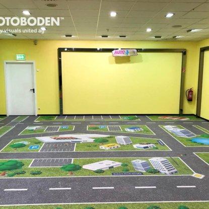 Bodengestaltung Vinylboden Fotoboden