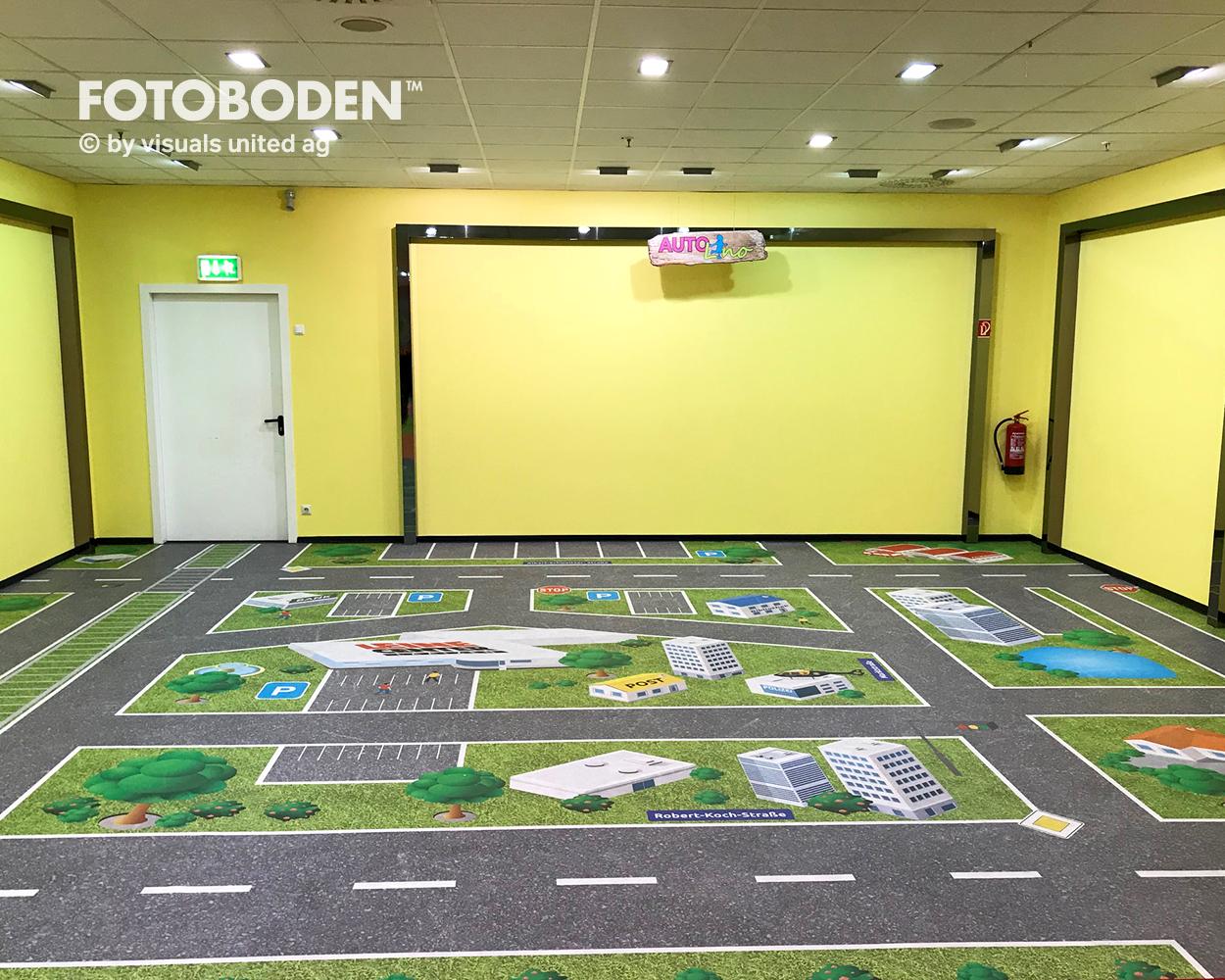 Ladengestaltung Bodengestaltung Vinylboden