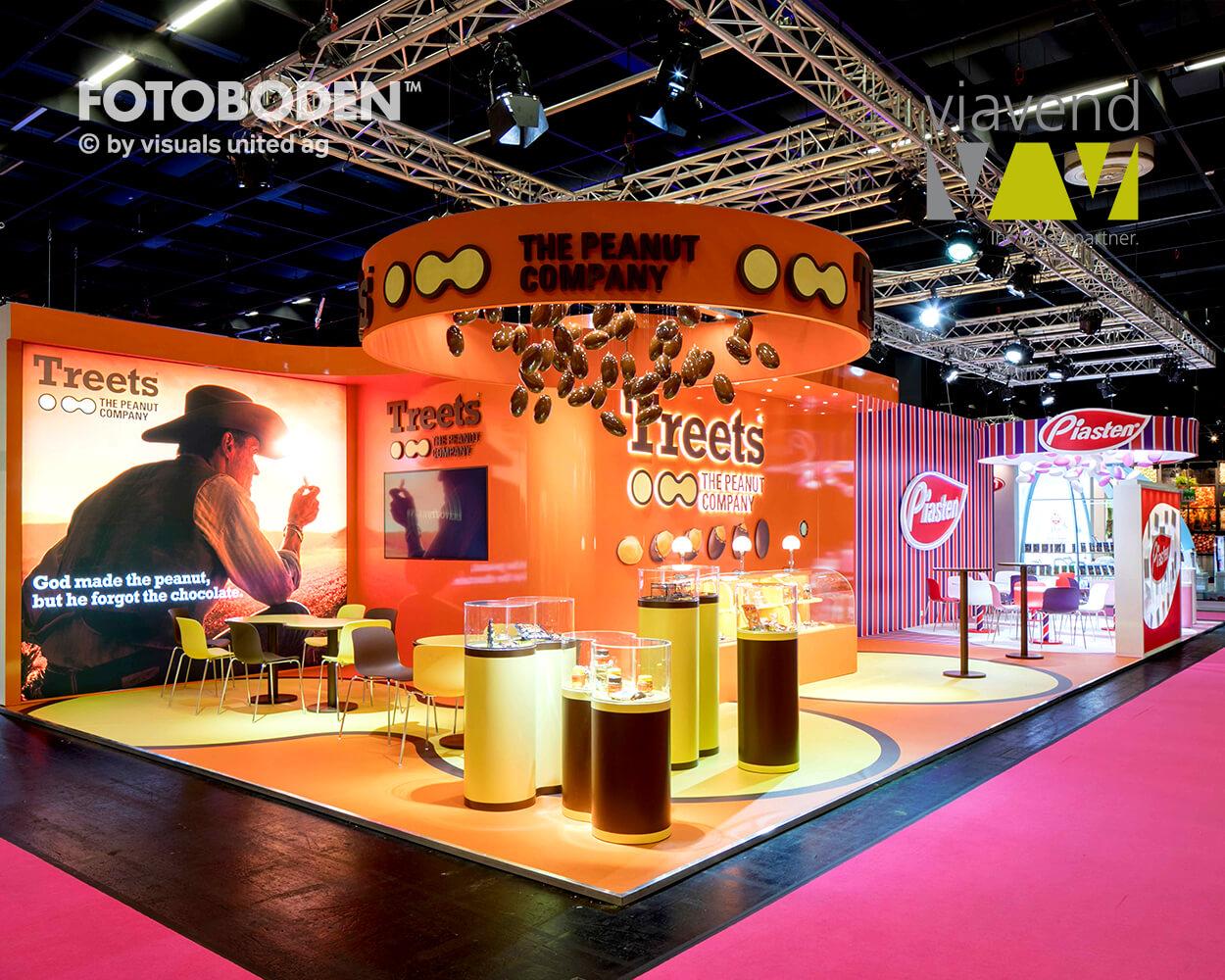 ISM FOTOBODEN™ Messeboden Flooring Bodengestaltung