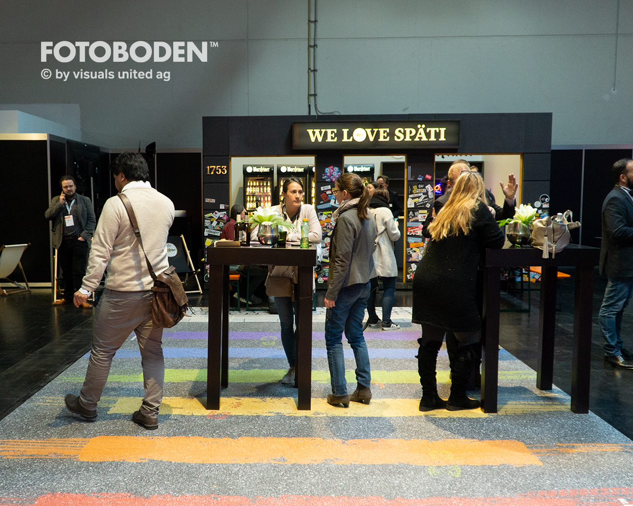 Promotionstand Eventboden Messeboden