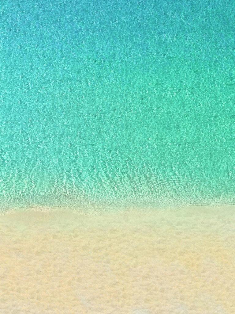 Strand mit Wasser
