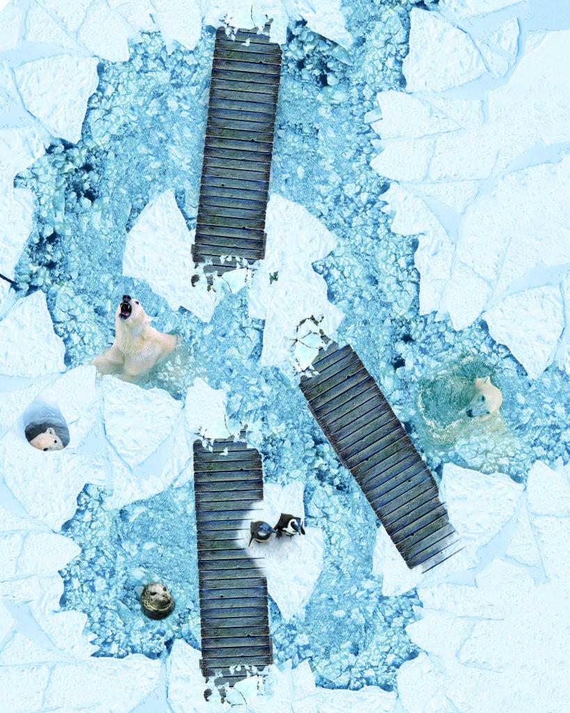 Vinylboden Eislandschaft