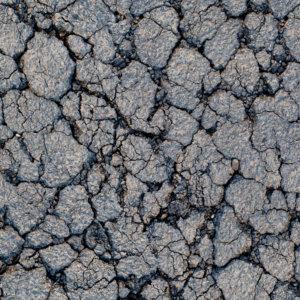 Vinylboden Asphalt gebrochen PVC Bodenbelag