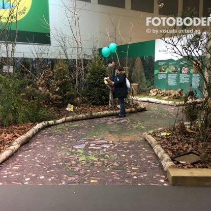 Bodengestaltung Messeboden FOTOBODEN™ PVC