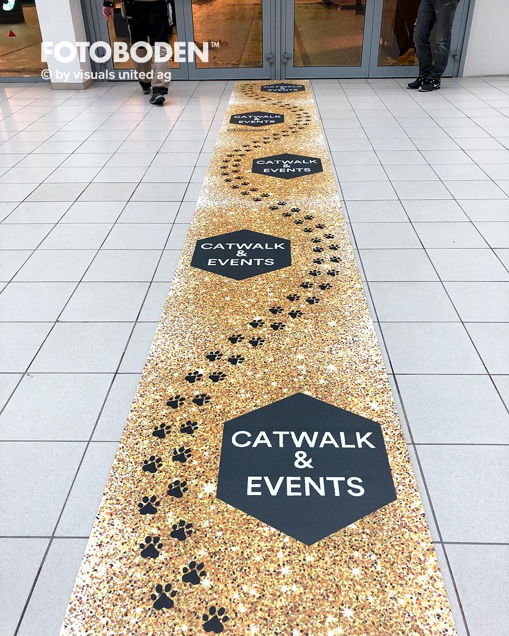 Best of Event Eventteppich Bodenwerbung