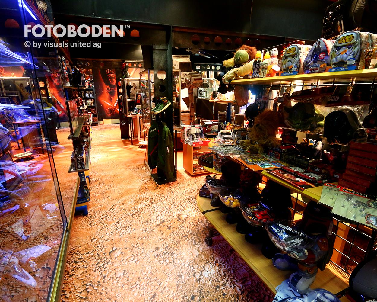 Motivboden, Kreativboden FOTOBODEN™ Designboden PVC
