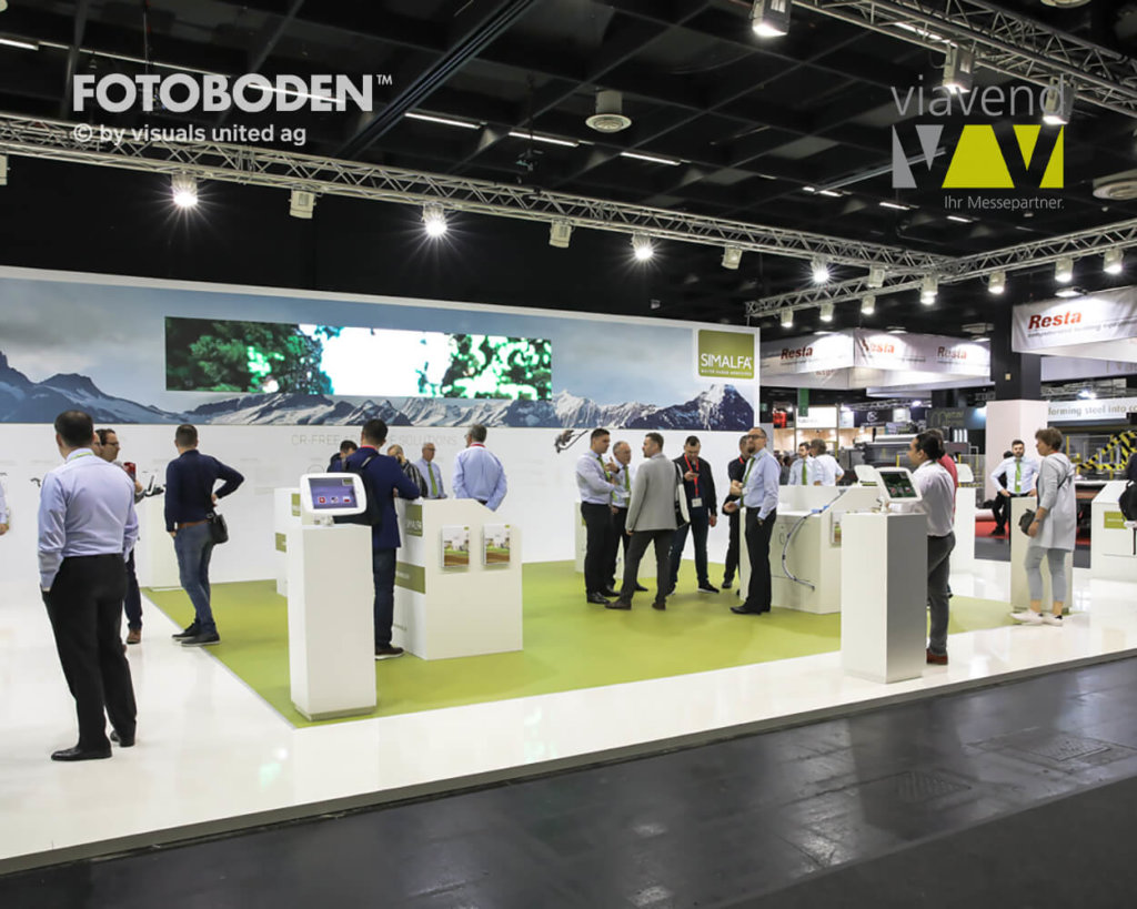 Interzum Messestand Messeboden Messedesign